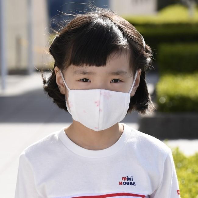 マスク着用 5歳児