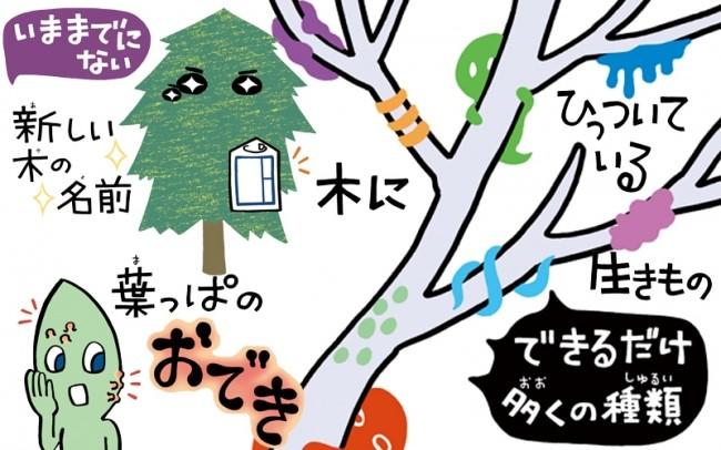 1本の木だけでも楽しめる3つのクエストにチャレンジ!